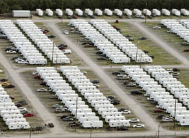 FEMA trailers in New Orleans, La. (Mario Tama/Getty Images)