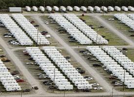 FEMA trailers in New Orleans, La. (Mario Tama/Getty Images)