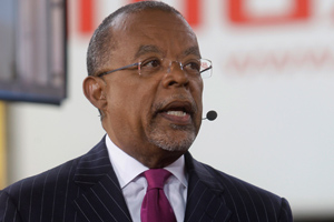 Dr. Henry Louis Gates Jr. participates in a panel on CNN's live show 'Moment of Truth: Countdown to Black in America 2.' (Frank Franklin II/AP Photo)