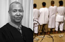 Judge Ricardo M. Urbina, left. (John Moore/Getty Images)