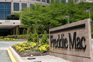 The exterior view of Freddie Mac is seen April 22, 2009 in McLean, Virginia. (Photo by Alex Wong/Getty Images)