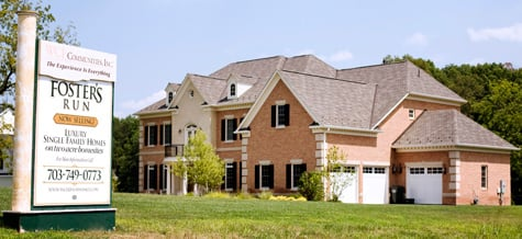 Foster's Run, a WCI Communities Inc. development in McLean, Va.  The homebuilder filed for bankruptcy protection. (Jay Premack/Bloomberg News)