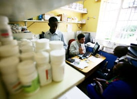Coptic Hospital in Nairobi, Kenya, which benefits from PEPFAR. (Credit: Brent Stirton/Getty Images)