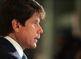 Illinois Gov. Rod Blagojevich (Tim Boyle/Getty Images)