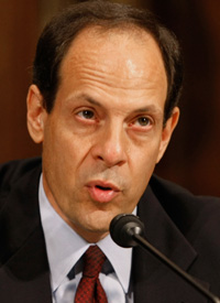 Justice Department Inspector General Glenn Fine (Credit: Mark Wilson/Getty Images)
