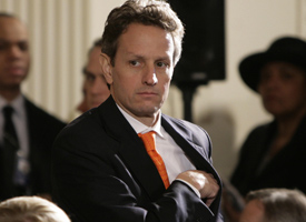 Secretary Tim Geithner (Yuri Gripas/AFP/Getty Images)