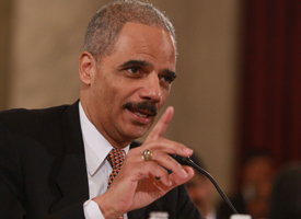 Attorney General nominee Eric Holder (Mark Wilson/Getty Images)