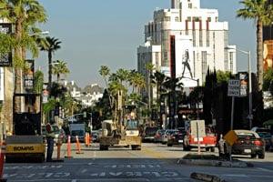 Sunset Gt Hollywood Car Show