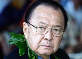 Sen. Daniel Inouye, D-Hawaii. (Marco Garcia/Getty Images)