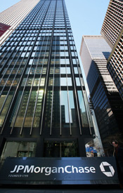JP Morgan Chase is leading the pack of loan servicers participating in the program Making Home Affordable. The bank is expected to receive more than $3.5 billion. (Michael Nagle/Getty Images)