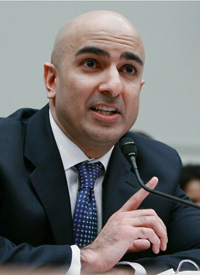 Treasury official Neel Kashkari testifies on the department's oversight of TARP on Capitol Hill. (Mark Wilson/Getty Images)