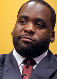 Mayor Kwame Kilpatrick (Credit: Bill Pugliano/Getty Images)