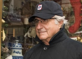 Bernie Madoff about town (Getty Images)