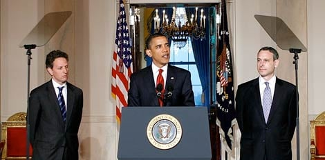 President Barack Obama speaks on international tax policy reform, May 4, 2009. (Alex Wong/Getty Images)