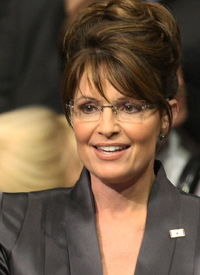 Sarah Palin (Credit: Justin Sullivan/Getty Images)