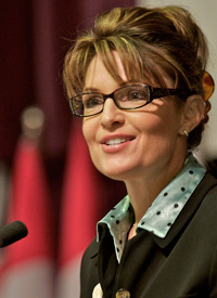 Sarah Palin in October 2007 (Credit: Clark James Mishler/Getty Images)
