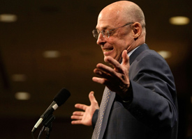 Former Treasury Secretary Hank Paulson's TARP lives on in the Obama administration. (Alex Wong/Getty Images)