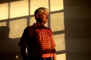 Jim Silverblatt, who owns a home that was built with tainted Chinese drywall, poses for a portrait in the Venetian Golf and River Club in North Venice, Fla., on Friday, May 20, 2010. (Chip Litherland / Sarasota Herald Tribune)
