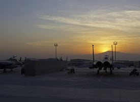 While in U.S. custody, militants are held at Special Operations sites in Balad, Iraq, and Bagram, Afghanistan, pictured. (Credit: Col. Tim Grams/U.S. Air Force)