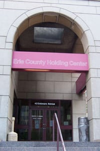Erie County Holding Center (Photo courtesy of the Erie County Sheriff's Office)