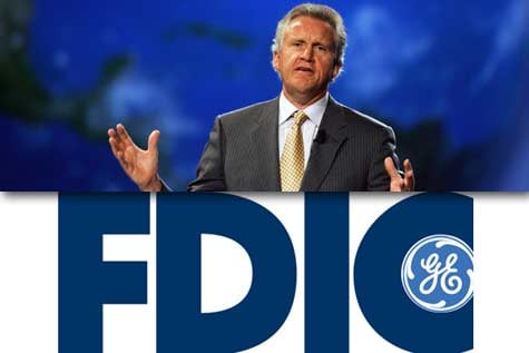 Jeffrey Immelt, GE's CEO, said that gaining access to the government debt guarantee program was 'powerful and helpful' to GE's financing arm. (Getty Images)