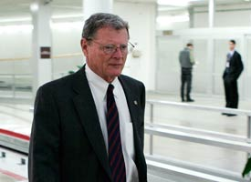 Sen. James Inhofe persuaded the EPA to delay its formaldehyde risk assessment in 2004. (Getty Images file photo)