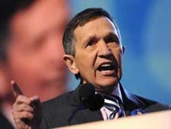 Rep. Dennis Kucinich, D-Ohio (Getty file photo)