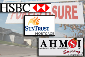 HSBC, SunTrust Mortgage Inc. and American Home Mortgage Servicing Inc. have not joined the government's loan modification program. (Getty Images)