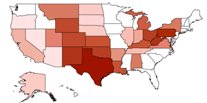 How many gas wells does your state have? Click to find out.