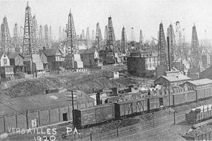 Versailles, Pa., as seen in 1920.