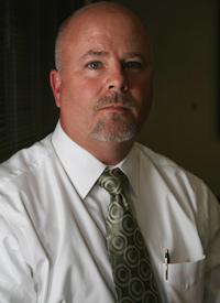 Bradley Field, the director of New York's Division of Mineral Resources, recently became aware of the chemicals added to drilling fluid. He has not decided whether his division will require well operators to name their chemical additives in order for their applications to drill in the Marcellus to be approved. (Credit: Abrahm Lustgarten/ProPublica)