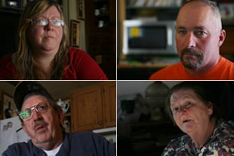 Fifteen families in Dimock, Pa., file a lawsuit against natural gas drilling company Cabot Oil and Gas, seeking to halt future drilling in the Marcellus Shale near their town. Meet the residents behind the lawsuit. (Abrahm Lustgarten/ProPublica)