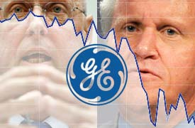 Click to see a timeline of Paulson's account of how GE managed the financial crisis compared with GE's public statements.