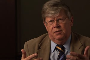 Former deputy director of the International Atomic Energy Agency Olli Heinonen disputes Kelley's claims on Burma's nuclear ambitions, saying 'it's a far-fetched explanation.' (Photo courtesy of PBS' Need to Know)