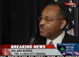 Appointee Roland Burris (MSNBC)