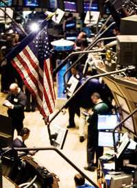 The NYSE trading floor, Oct. 7, 2008 / ProPublica
