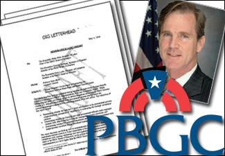 Charles E.F. Millard, the former director of the Pension Benefit Guaranty Corporation, is cited in an OIG report as communicating directly with bidders for PBGC's new investment policy. (ProPublica)