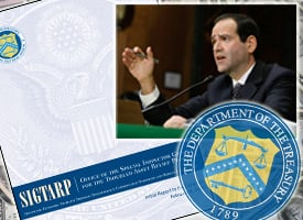 TARP Special Inspector General Neil Barofsky released his first report on the program. (ProPublica)