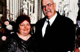 Linda Lane and her husband Reggie Lane.