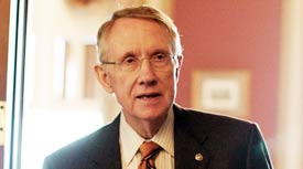 Sen. Harry Reid has reportedly made reversing the Bush administration's last-minute rules one of his priorities (WDCPIX).