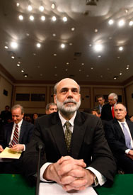 Federal Reserve Board Chairman Bernanke (REUTERS/Jim Bourg)