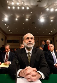 Federal Reserve Board Chairman Bernanke (REUTERS/Jim Bourg)