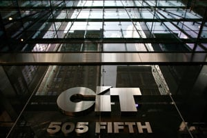 CIT is the largest of the troubled banks who had received TARP funds. (Brendan McDermid/Reuters)