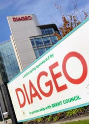 London-based Diageo is the largest liquor company in the world. (Toby Melville / Reuters)