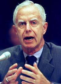 Then-SEC Chairman Arthur Levitt, July 1998.