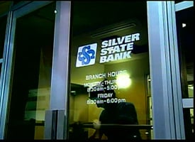 A Silver State Bank branch (CNN's Lou Dobbs Tonight)