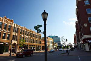 St. Germain Street in downtown St. Cloud. (Jason Wachter/ProPublica)