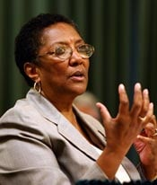 California Board of Registered Nursing executive officer Ruth Ann Terry (Liz O. Baylen/Los Angeles Times)