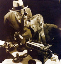 Publicity still from Broadway production of 'The Front Page'
