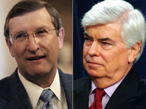 Sens. Kent Conrad and Chris Dodd (wdcpix.com)